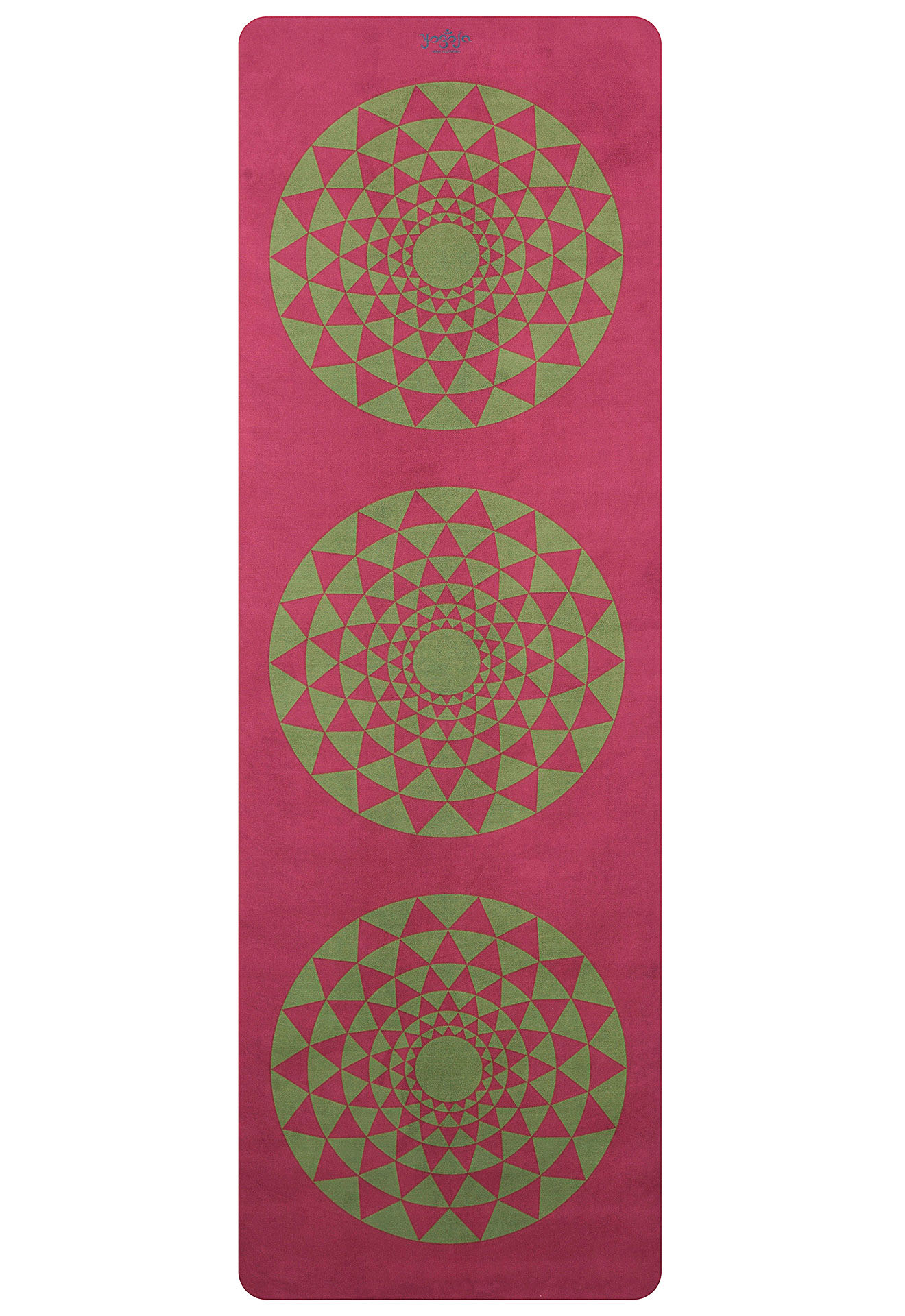 Red Green Journey Yoga Mat Carpet With Unique Design By